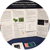 Poster board presented by Kyra Wu at the Greater San Diego Science and Engineering Fair